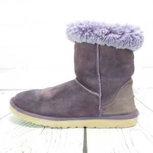 UGG Australia 5825 Classic Short Purple Boots Sz 9